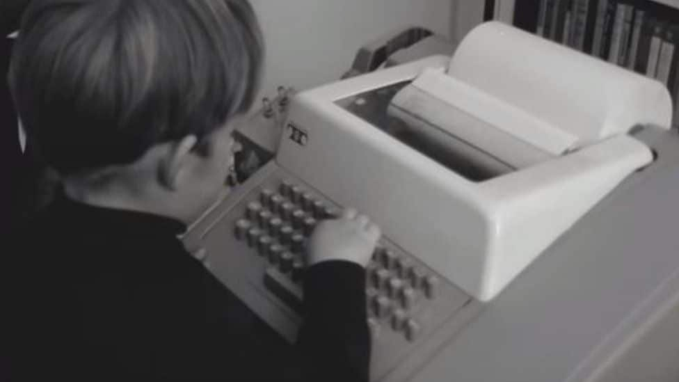The first home computer terminal was showcased on an episode of Tomorrow's World in 1967